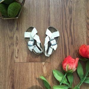 Zara Footbed Sandals